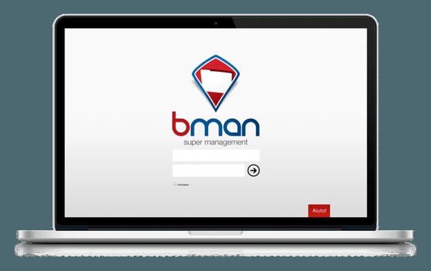 monitor esempio software di gestione magazzino